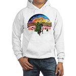 XMusic2-Boxer (Br-nat) Hooded Sweatshirt