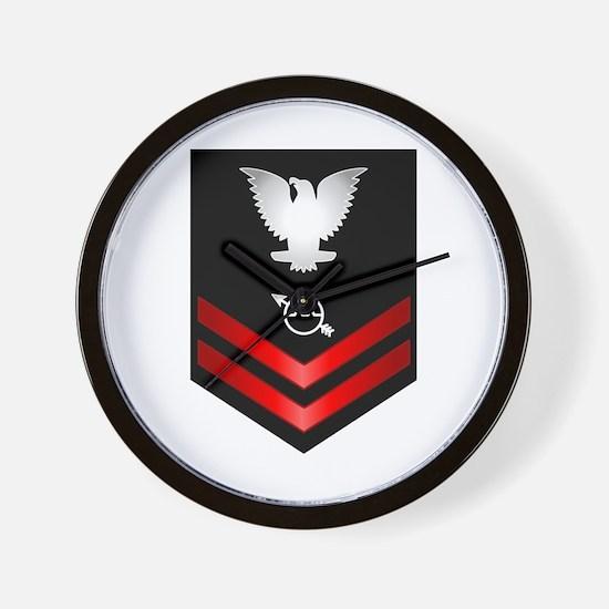 Navy PO2 Operations Specialist Wall Clock