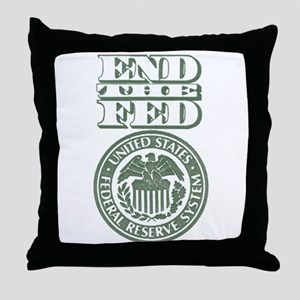 End The Fed Throw Pillow