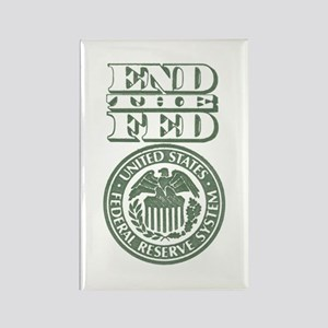End The Fed Rectangle Magnet