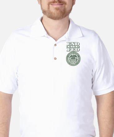 End The Fed Golf Shirt