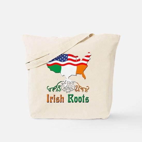 American Irish Roots Tote Bag