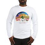 XMusic2 - Two Bichon Long Sleeve T-Shirt