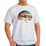 XMusic2 - Two Bichon Light T-Shirt