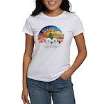 XMusic2 - Two Bichon Women's T-Shirt