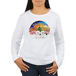 XMusic2 - Two Bichon Women's Long Sleeve T-Shirt