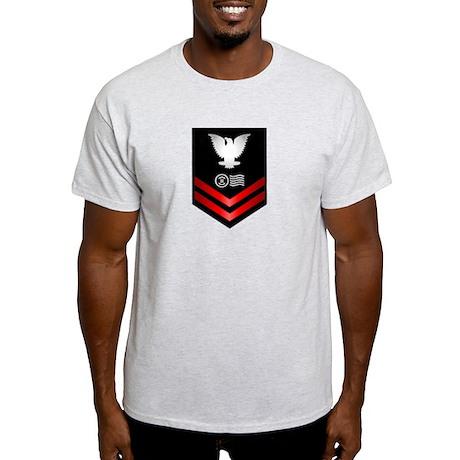 Navy PO2 Postal Clerk Light T-Shirt