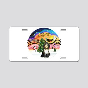 XMusic2 - Beardie (gry) Aluminum License Plate