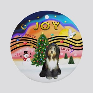 XMusic2 - Beardie (gry) Ornament (Round)