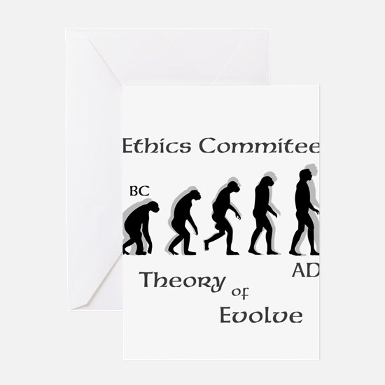 OYOOS Ethics Theory design Greeting Card