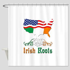 American Irish Roots Shower Curtain