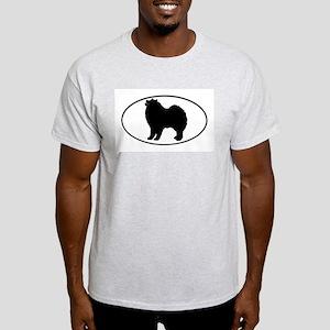 Samoyed Ash Grey T-Shirt
