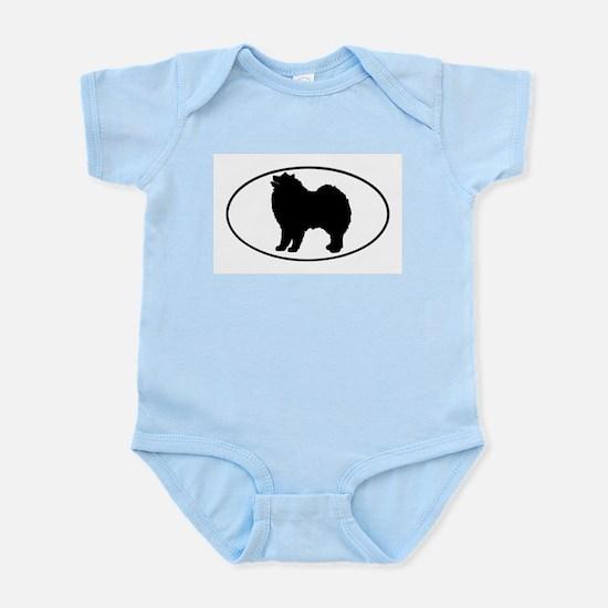 Samoyed Infant Creeper