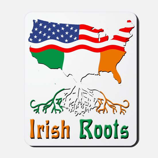 American Irish Roots Mousepad