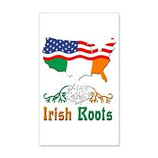 American Irish Roots Wall Decal