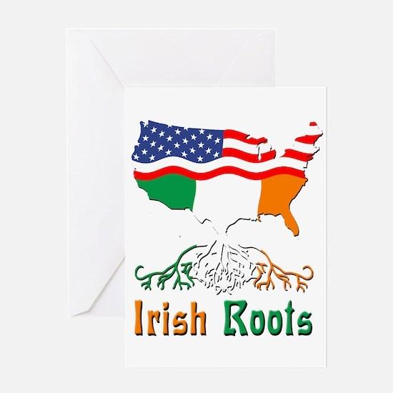 American Irish Roots Greeting Card