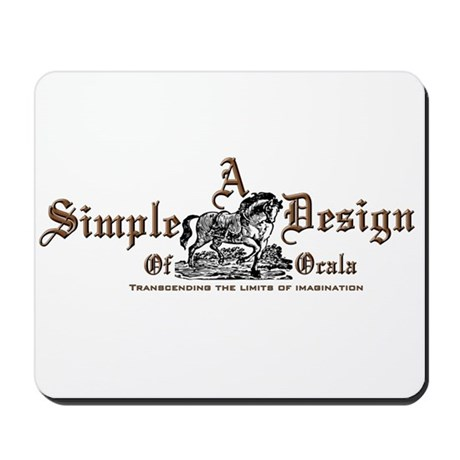 A Simple Design Of Ocala Gear Mousepad