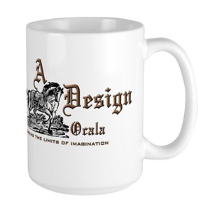 A Simple Design Of Ocala Gear Large Mug