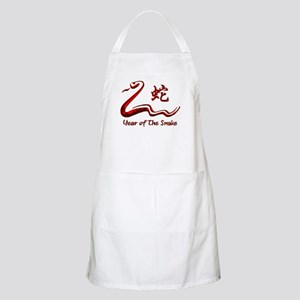 Chinese Year of The Fire Snake 1977 Apron