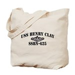 USS HENRY CLAY Tote Bag