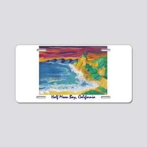 Half Moon Bay 700 Aluminum License Plate