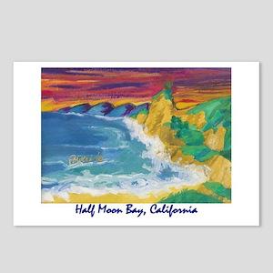 Half Moon Bay 700 Postcards (Package of 8)