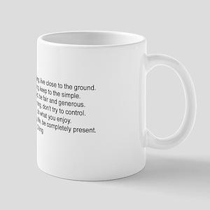 In Family Life, Be Present - Mug