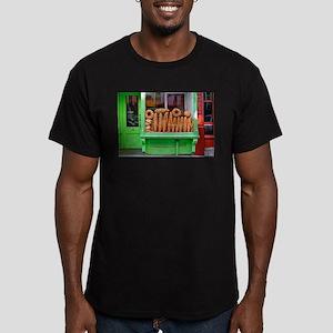 Bakery Window Men's Fitted T-Shirt (dark)
