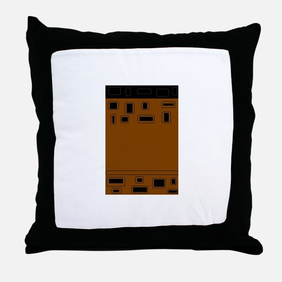 Cute African inspired Throw Pillow