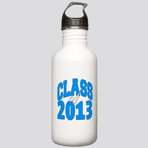 Class of 2013 (blue) Stainless Water Bottle 1.0L
