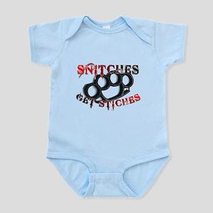 Snitches Get Stiches Infant Bodysuit