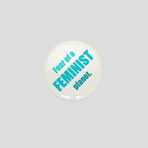 Feminist Planet Mini Button