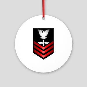 Navy Aerographer First Class Ornament (Round)