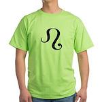 Leo Symbol Green T-Shirt