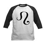 Leo Symbol Kids Baseball Jersey