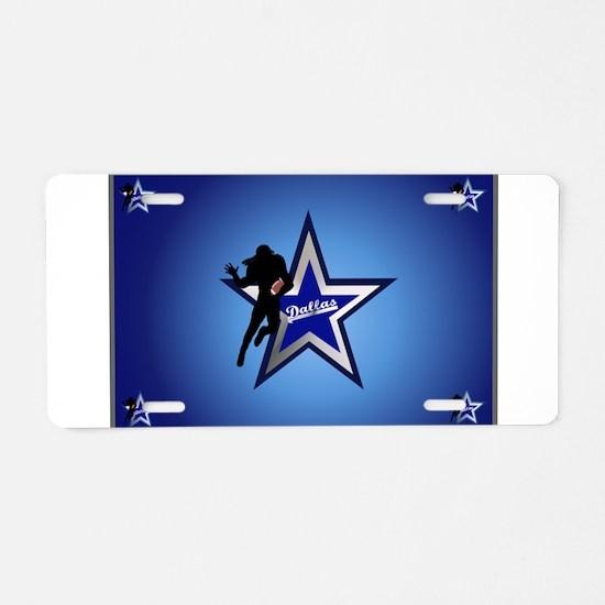 Dallas Aluminum License Plate