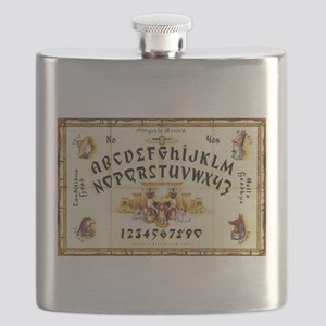 Vintage Egyptian Ouija Board Flask