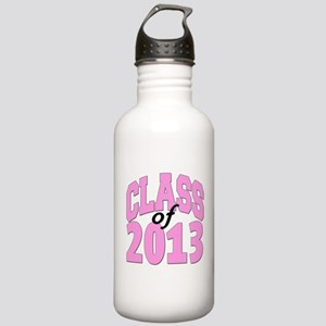Class of 2013 Pink Stainless Water Bottle 1.0L
