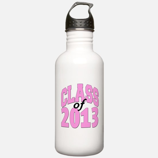 Class of 2013 Pink Water Bottle