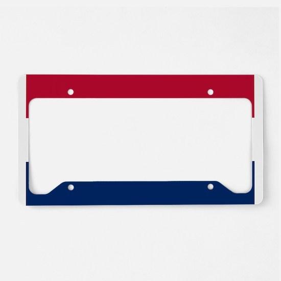 Missouri State Flag License Plate Holder