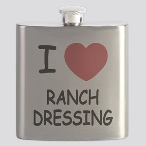 I heart ranch dressing Flask