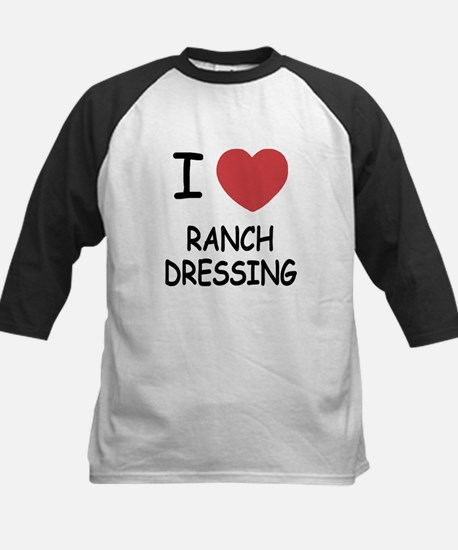 I heart ranch dressing Kids Baseball Jersey