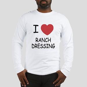 I heart ranch dressing Long Sleeve T-Shirt