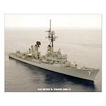 USS HENRY B. WILSON Small Poster