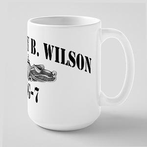 USS HENRY B. WILSON Large Mug