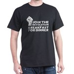 Revolution Breakfast For Dinner Dark T-Shirt
