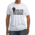 Revolution Breakfast For Dinner Fitted T-Shirt