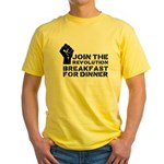 Revolution Breakfast For Dinner Yellow T-Shirt