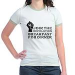 Revolution Breakfast For Dinner Jr. Ringer T-Shirt