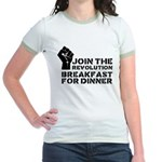 Revolution Breakfast For Dinner Jr. Ringer T-Shirt